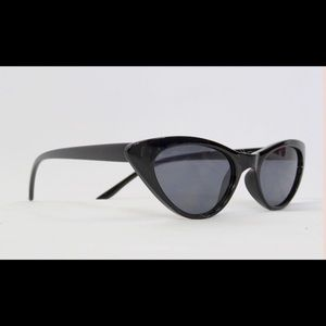 Accessories - Small Black Cat eye glasses